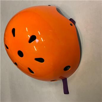 Casque terrestre NEON ORANGE KIDDI MOTO M (53-58 cm) taille adulte Occasion A