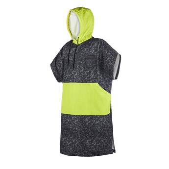 Poncho MYSTIC Allover 953 Black/Lime
