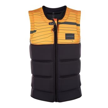 Gilet impact vest wakeboard MYSTIC Marshall front zip 900 Black