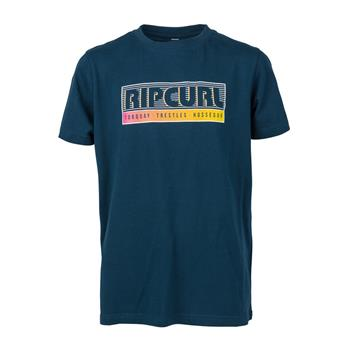 Tee shirt Junior RIP CURL slantbig 49 navy