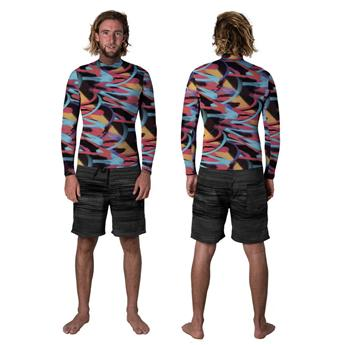Top néoprène RIP CURL Dawn Patrol Rev 1,5mm3282 multico