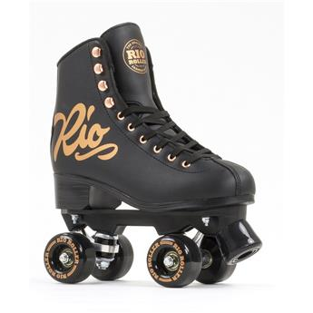 Roller Quad Rio Roller Rose Black