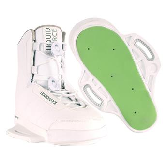 Chausse Wakeboard LIQUID FORCE Hitch Limited Blanche 2019