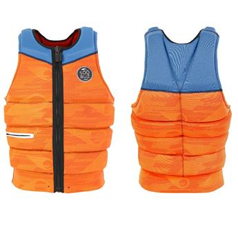 Impact veste Wakeboard SOORUZ DELUX - CE Approved EPI 89-686 2019 Orange