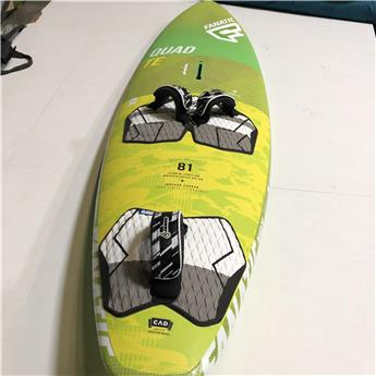 Board Windsurf FANATIC QUAD TE 2016 81 Litres Occasion C