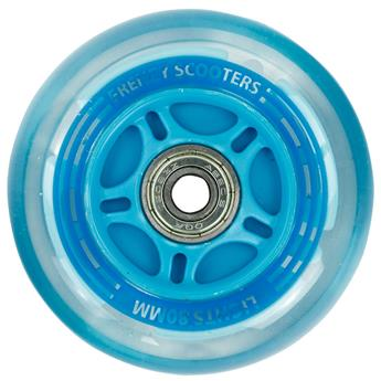 Roue trottinette adulte FRENZY 3 Wheel Light Up Wheels  Blue