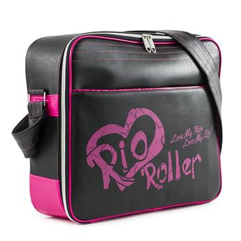 Sac Roller RIO ROLLER Fashion Bag  Black/Pink