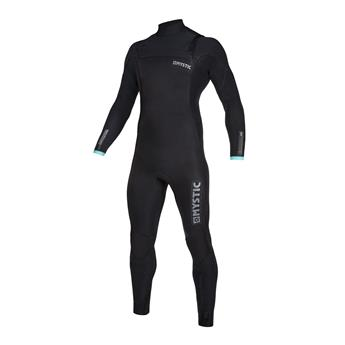 Combinaison surf MYSTIC Marshall Fullsuit 5/3mm Front  Zip 956 Black Mint