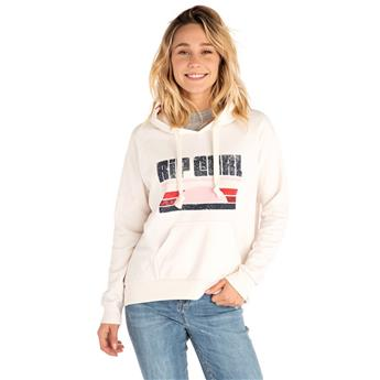 Sweatshirt Femme RIP CURL Front side hooded fleece 9566 sea salt