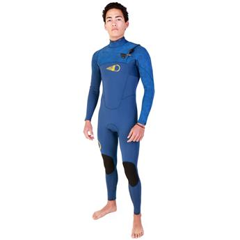 Combinaison surf intégrale SOORUZ Fighter 5/4/3mm Chest Zip Blue