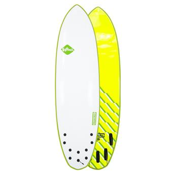 Surf softboard SOFTECH Brainchild FCS II 6,6 Green