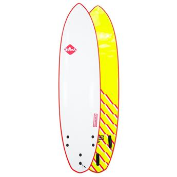 Surf softboard SOFTECH Brainchild FCS II 7,6 Red