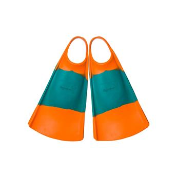 Palme bodyboard HYDRO Fin Orange Emerald