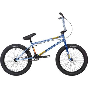 BMX Freestyle STOLEN X Fiction Creature Angry seas blue 21