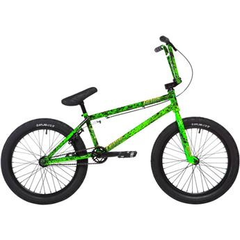 BMX Freestyle STOLEN X Fiction Creature Toxic green Splatter 21