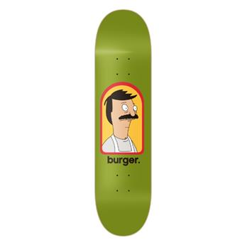 Deck Skateboard HABITAT Burger Small 8.0´´x31.5´´