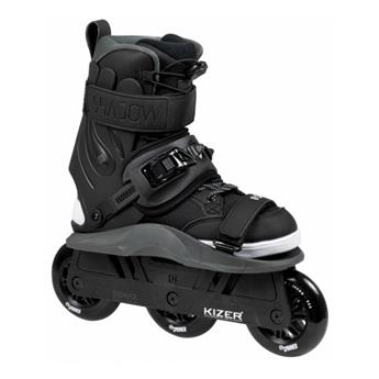 Roller en ligne freeskate USD UNIVERSAL SKATES DESIGN Shadow Trimax black/brown