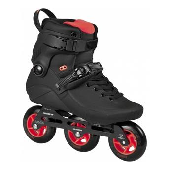 Roller en ligne freeskate POWERSLIDE Kaze 90 black black/red