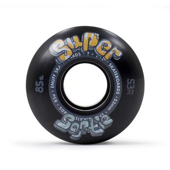 Roue skate ENUFF Super Softie Wheels Black