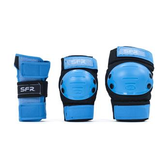 Set de protection SFR ROLLER Youth Ramp Black/Blue
