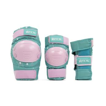 Set de protection SFR ROLLER Star Pink/Green