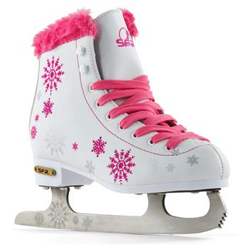 Patin à glace SFR ROLLER Snowflake Pink