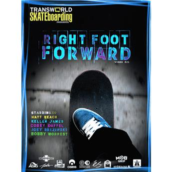 DVD TRANSWORLD SKATE right foot forward