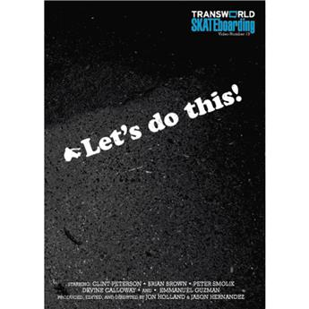 DVD TRANSWORLD SKATE let´s do this