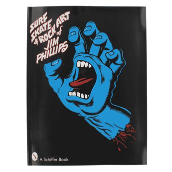 Livre SANTA CRUZ the art of jim phillips (surf skate rock)