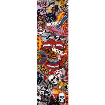 Grip POWELL PERALTA og stickers white 9 x 33