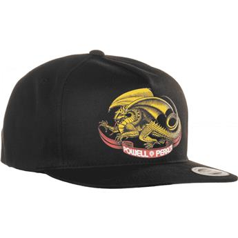 Casquette POWELL PERALTA oval dragon snapback black