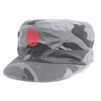 Casquette INDEPENDENT army camo black grey