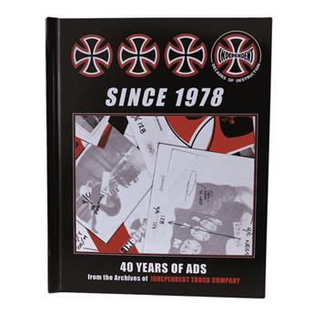 Livre INDEPENDENT book since 1978 40 years of ads