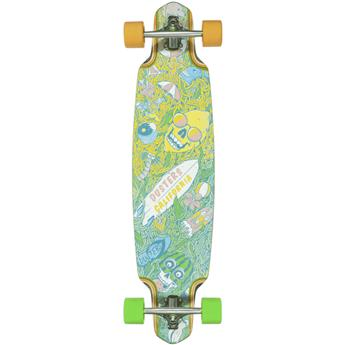 Skate Longboard DUSTERS CALIFORNIA playground 38 green yellow