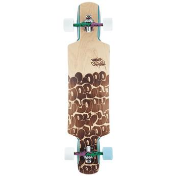 Skate Longboard DUSTERS CALIFORNIA cope 2 38.5 wood burn