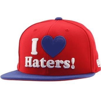 Casquette DGK SKATEBOARDS haters snapback red royal