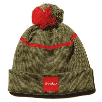 Bonnet CHOCOLATE beanie 20 years pineline olive