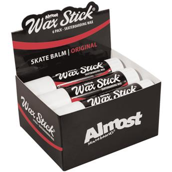 Wax ALMOST SKATEBOARDS stick (pack de 6)