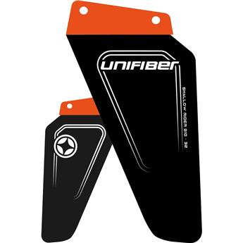 Aileron windsurf UNIFIBER Shallow Rider G10 Tuttle Box