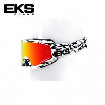 Masque moto, VTT EKS scatter x series white / black