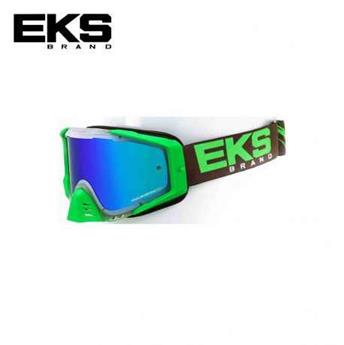 Masque moto, VTT EKS s series clear / flo green / smoke