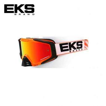 Masque moto, VTT EKS s series flo orange / black / white