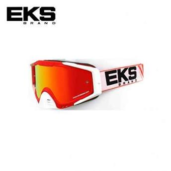 Masque moto, VTT EKS s series red / white / black