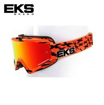 Masque moto, VTT EKS scatter x series flo orange / black