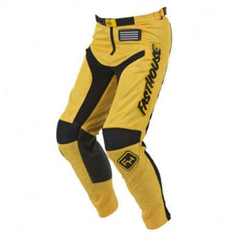 pantalon FASTHOUSE moto grindhouse yellow