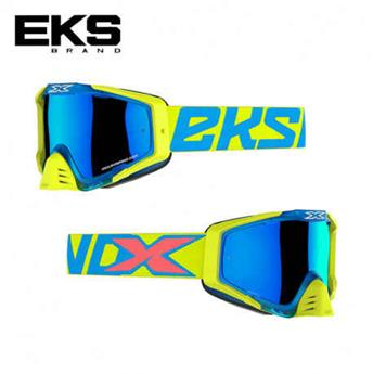 Masque moto, VTT EKS s series flo yellow / fire red