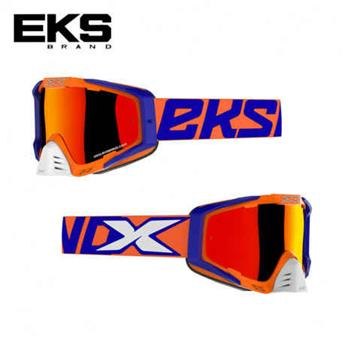 Masque moto, VTT EKS s series orange / blue / white