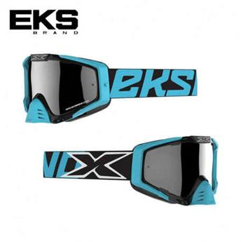 Masque moto, VTT EKS s series black / ice blue