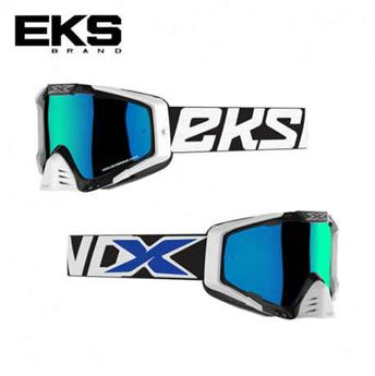 Masque moto, VTT EKS s series black / white / blue