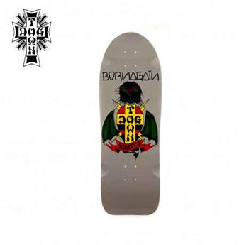 Deck skateboard DOGTOWN x SUICIDAL 80´s reissues born again grey 10